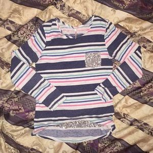 Patterned long sleeve shirt size XL in kids